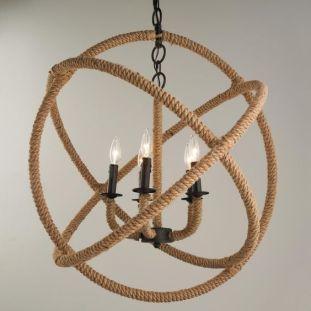 large-rope-sphere-chandelier