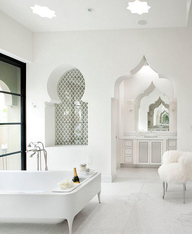 luxurious-contemporary-bath-uses-the-moroccan-architectural-elements-without-bright-colors-and-patterns