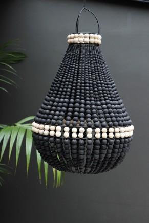 black_beaded_chandelier_ceiling_light