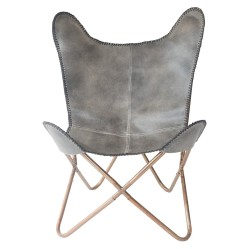 hardoy_chair_grey_copper_front_136809