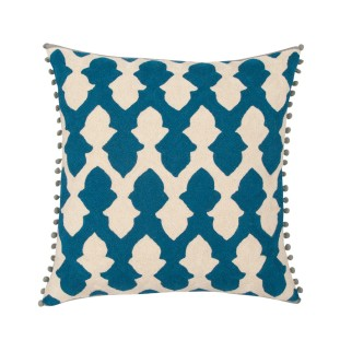 lattice-cushion-teal-ecru-niki-jones-niki-jones-clippings-1384861