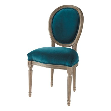 velvet-and-solid-oak-medallion-chair-in-peacock-blue-louis-1000-2-25-132619_1