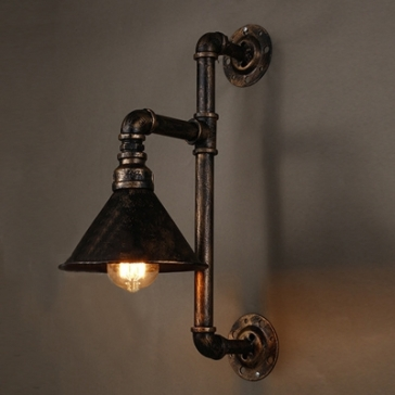 One Light Pipe Wall Sconce
