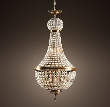 19th century french empire crystal