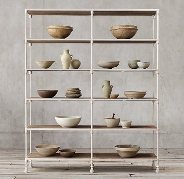 RH Dutch Industrial Double Shelving