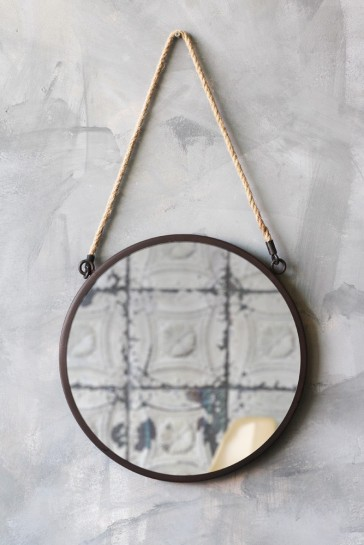 RSG Round Ships Mirror With Rope