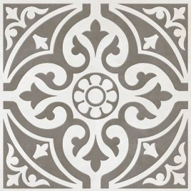 Victorian Plumbing Kingsbridge Grey Floor Tile