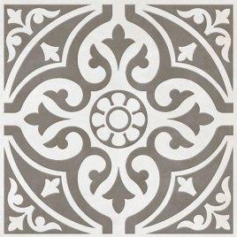 Victorian Plumbing Kingsbridge Grey Floor Tile