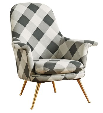 Buffalo-check-kimball-chair