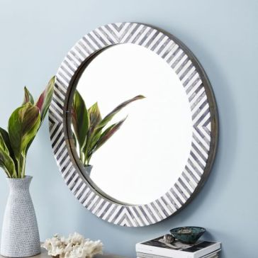 parsons-round-mirror-herringbone-c