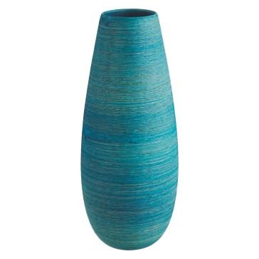Turk Blue Ceramic Vase