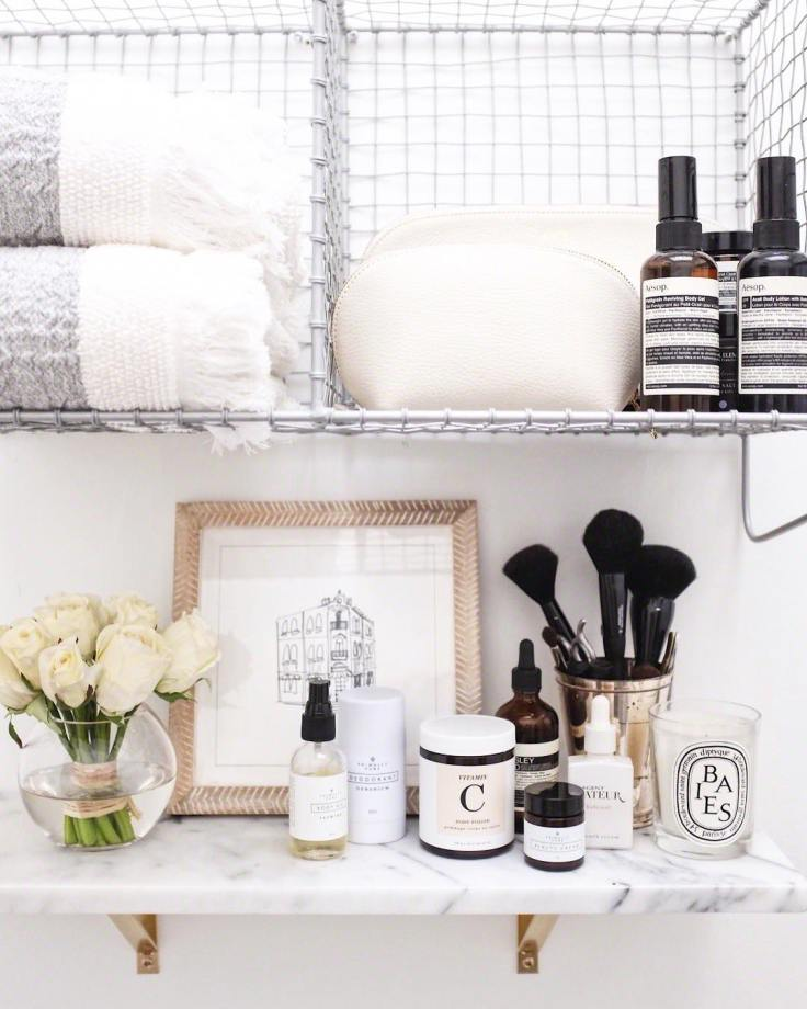 How-to-Refresh-Your-Bathroom-for-Under-100-bathroom-shelves