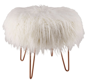 loen-copper-metal-and-white-faux-fur-stool-1500-8-19-165044_1